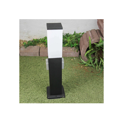 Licht-Erlebnisse Sockelleuchte BONN Sockelleuchte außen Edel Wegbeleuchtung Gartenbeleuchtung Lampe