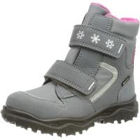 Superfit Kinder-Klett-Boots in grau/rosa