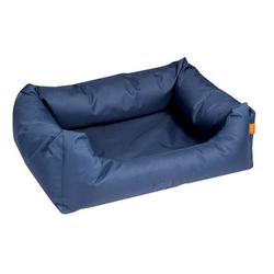 Hundebett Dreambay Eckig, 120 x 95 x 28 / 14 cm, blau