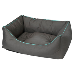 D&D Hundebett Domino Pet Bed grau, Maße: 45 x 60 x 24 cm
