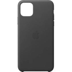 Apple Leder Case iPhone 11 Pro Max Schwarz