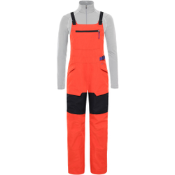 The North Face - W Team Kit Bib Flare/Tnf Black - Skihosen - Größe: L
