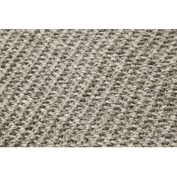 Sisalteppich Sisal grau ca. 80/160 cm