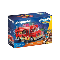 Playmobil® Spielzeug-Auto PLAYMOBIL® 70075 - The Movie - Del`s Food Truck