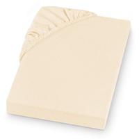 Setex Spannbettlaken REFIBRA Feinbiber, aus bis zu 60% recycelten Fasern natur 180 cm (BxL), beige