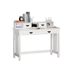 HOMCOM Schreibtisch Schreibtisch mit Regal