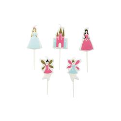 Rico-Design Verlag Formkerze Kerzen Prinzessin, 5 Stück