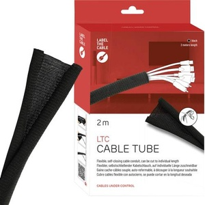 Label the Cable Kabelschlauch LTC 5110 Schwarz
