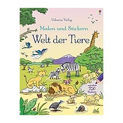 Malen und Stickern: Welt der Tiere. Jessica Greenwell  - Buch