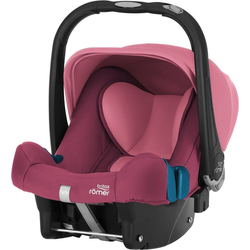 BRITAX RÖMER Babyschale Babyschale Baby-Safe Plus SHR II, Flame Red