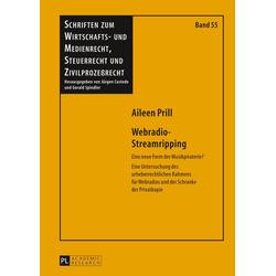 Webradio-Streamripping als Buch von Aileen Prill