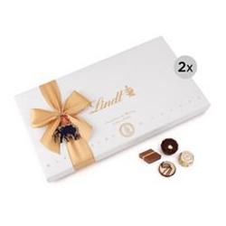 LINDT Pralinen 2 Geschenkschachteln à 350g Inhalt 700g