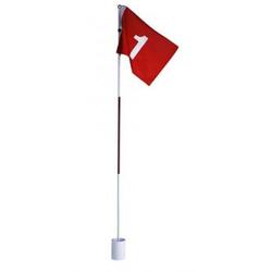 Golfhole mit Fahne