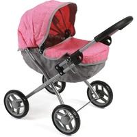 Bayer Chic 2000 Puppenwagen, Melange Pink