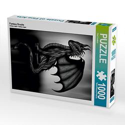 Fantasy Drache Lege-Größe 48 x 64 cm Foto-Puzzle Bild von Pezi Creation Puzzle
