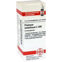 PLATINUM METALLICUM C 200 Globuli