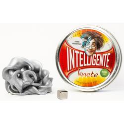 INTELLIGENTE knete Intelligente Knete Ferromagnetisch - Silber, magnetisch silberfarben Kinder Kneten Modellieren Basteln, Malen, Kosmetik Schmuck