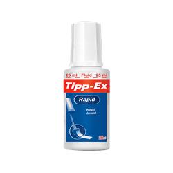 BIC Tipp-Ex Rapid Korrekturflüssigkeit, Weiß