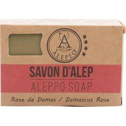 ALEPEO Aleppo Olivenölseife mit Rosenblütenduft 100 g