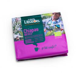 "Kaffeepads Café Liégeois ""Chiapas"", 16 Stk."