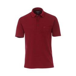 Polo-Shirt uni CASAMODA Dunkelrot