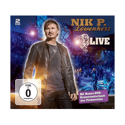 Nik P. - Löwenherz (Live) (CD + DVD Video)