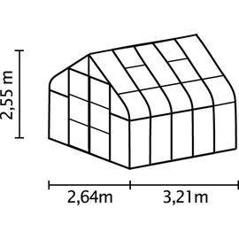 Vitavia Diana 8300 Alu HKP 4 mm 8,3 m²