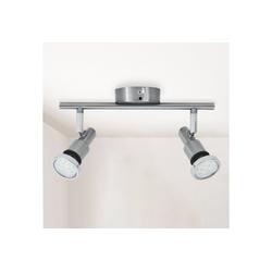 B.K.Licht LED Deckenleuchte Aurel, LED Badlampe IP44 Deckenstrahler Badezimmer GU10 Spot Decke Leuchte Lampe 5W