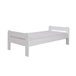 Łóżko Aleno z sosnowego drewna