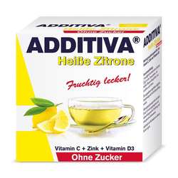ADDITIVA heiße Zitrone Pulver ohne Zucker