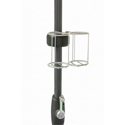 Doppler Flaschenhalter Halterung für den Sonnenschirm Grillchamp