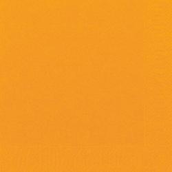 Duni Zelltuch Servietten 24x24 3lg 1/4 orange - 8x250 Stück