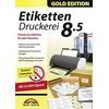 Markt + Technik Markt & Technik Etiketten Druckerei 8.5 Gold Edition Vollversion, 1 Lizenz Windows Etikettendruck-So