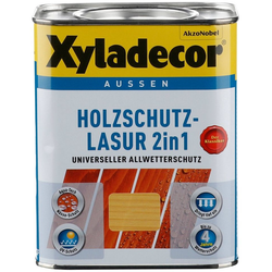 Xyladecor Holzschutzlasur 2in1, 0,75 Liter, grün grün