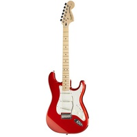 FENDER Standard Stratocaster Agathis MN CAR candy apple red