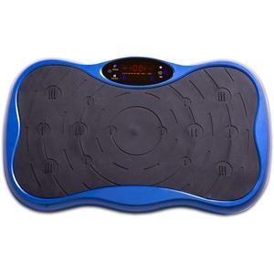 aktivshop Vibrationsplatte Vibrationstrainer inkl. Expanderbändern Fernbedienung rutschfeste Standfläche kompaktes Design
