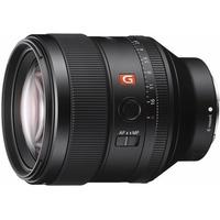 Sony SEL-85F14GM, Vollformat G-Master 85mm Portrait Objektiv, hohe Lichtstärke F1.4, Festbrennweite schwarz