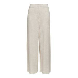 ONLY Strick Hose Damen Beige Female M