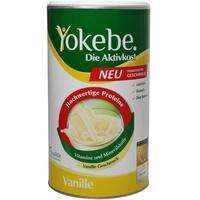Yokebe Aktivkost Vanille Pulver 500 g