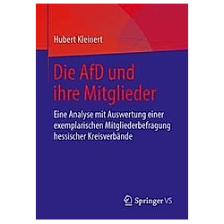 Die AfD und ihre Mitglieder. Hubert Kleinert  - Buch