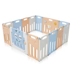 Baby Vivo Laufgitter aus Kunststoff 14 Elemente Faltbar / Klappbar - Luna