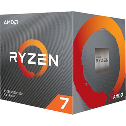 AMD Prozessor AMD Ryzen 7 3700X Box AM4 (3,600GHz) with Wraith Spire cooler with RGB LED