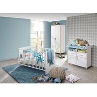 rauch ORANGE Babyzimmer-Komplettset Potsdam, (Set, 3-St), Bett + Wickelkommode + 2 trg. Schrank