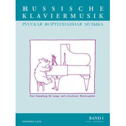 Russische Klaviermusik als Buch von