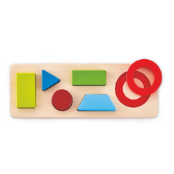 Hape Geometrie-Puzzle