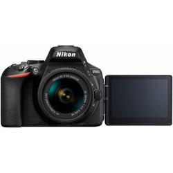 Nikon D5600 Kit Spiegelreflexkamera (AF-P DX 18-55 VR, 24,2 MP, Bluetooth, NFC, WLAN (Wi-Fi)