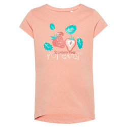name it Girls T-Shirt Veen Blooming Dahlia