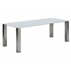 NIEHOFF SITZMÖBEL Esstisch Multitop, taupe oder weiß, in 5 Breiten weiß 180 cm x 76 cm x 90 cm