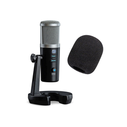 Presonus Richtmikrofon Presonus Revelator USB-Mikrofon + WS02 Popschutz