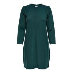 ONLY Einfarbiges Kleid Damen Grün Female M